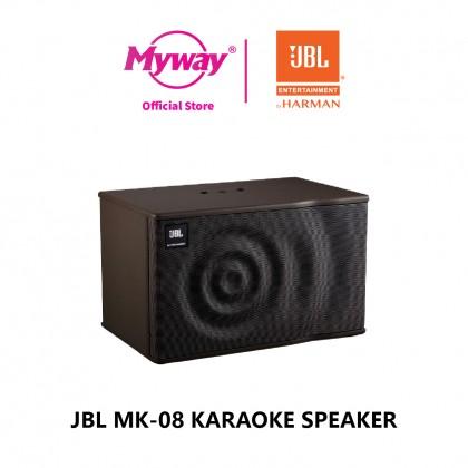 "JBL MK-08"" 2-Way Full-Range Loudspeaker System"